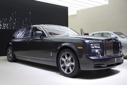 Rolls-Royce Phantom with extended wheelbase