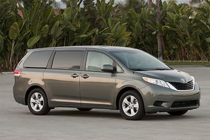 2013-2014 Toyota Sienna LE AWD