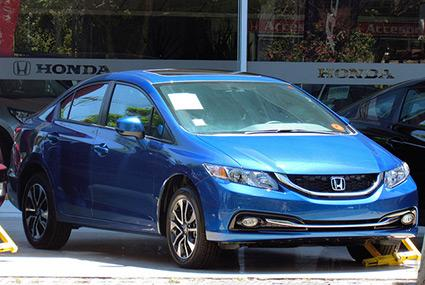 Honda Civic 1.8 EXL 2014