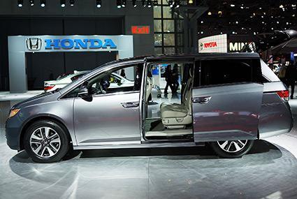 Honda 2014 Odyssey Minivan