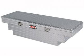 Delta 1-304000 Bright Aluminum Mid Size Single Lid Crossover Truck Box
