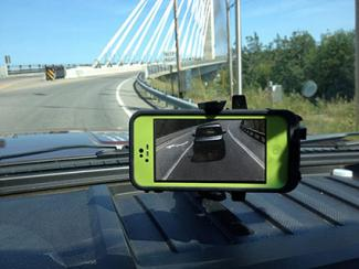 Wireless iPhone Rear View Camera System