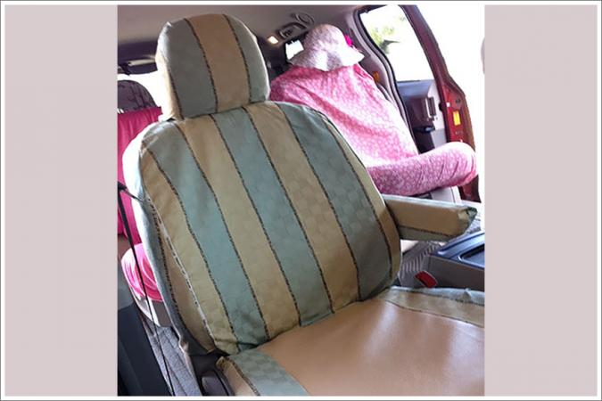 DIY Car seat cover