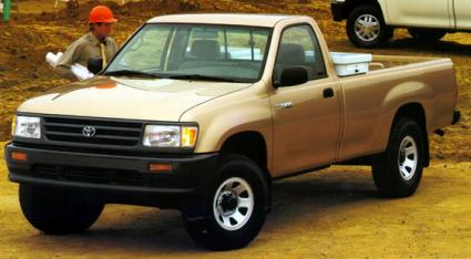 Gold 1995 Toyota T100