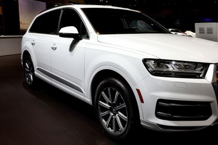2018 Audi Q7 on display