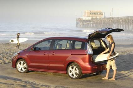 The 2009 Mazda5 Minivan