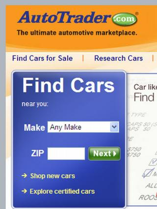 Used Car Website In  Place