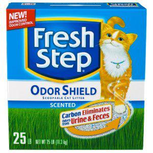 Fresh Step Odor Shield Scented, 25-Pound Box