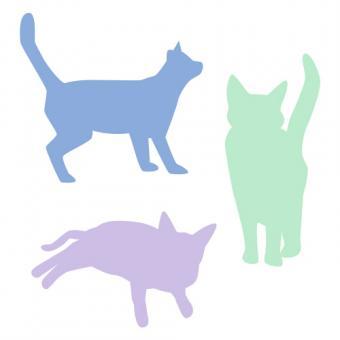 Cat silhoutte clip art