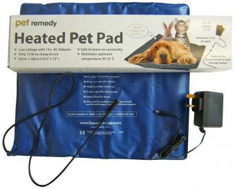 Pet Remedy Heated Pet Pad