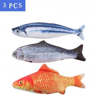 MAXXV Catnip Fish Toy for Cats
