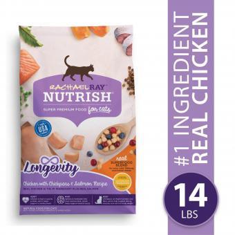 Rachael Ray Nutrish Longevity Natural Senior Dry Cat Food