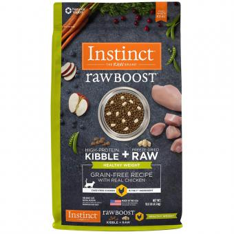 Instinct Raw Boost Healthy Weight Grain-Free Recipe by Nature's Variety