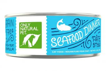Only Natural Pet Grain-Free Pate Canned Wet Cat Food