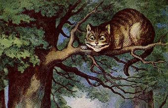 cheshire cat alice's adventures in wonderland