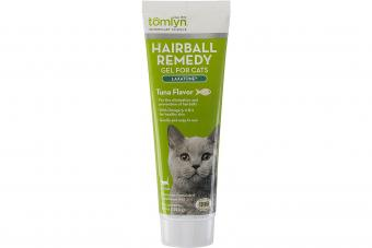 Tomlyn Laxatone Hairball Remedy Supplement for Cats, Tuna Flavor, 4.25 oz.