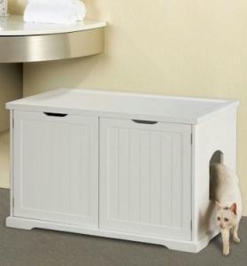 Merry Pet Litter Box Washroom Bench