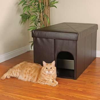 Petco Cat Litter Box Storage Ottoman