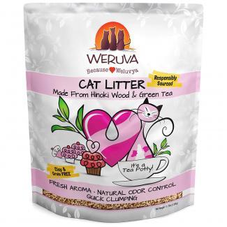 Hinoki Wood & Green Tea Natural Cat Litter