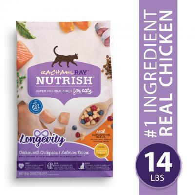 Rachael Ray Nutrish Longevity Natural Senior Dry Cat Food