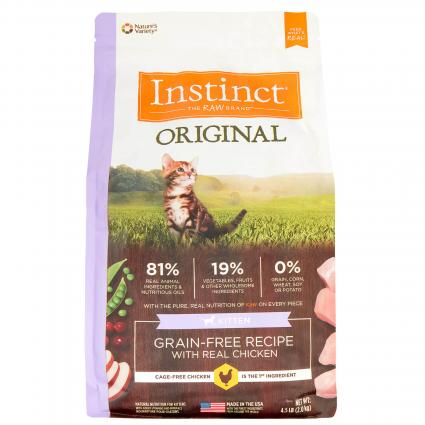 Instinct Original Dry Cat Food by Nature's Variety