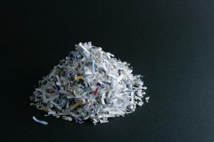 Shredded paper litter