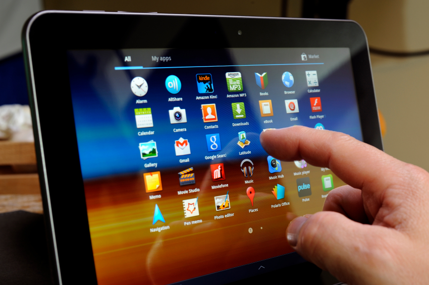 How to Stop Samsung Tablets From Freezing on Startup