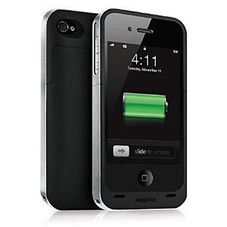 Mophie Juice Pack Air Case and Rechargeable Battery (Black, Verizon and AT