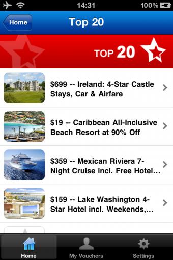 Travelzoo Top 20