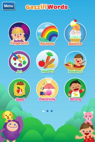 GazziliWords app