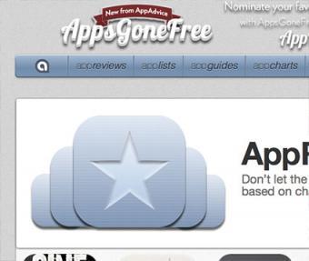 Screenshot of appadvice.com website