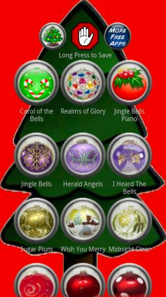 Screenshot of Christmas Ringtones by JRJ Unlimited