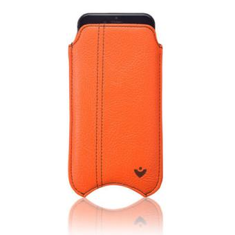NueVue faux leather orange iPhone 6 case