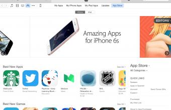 App Store on iTunes