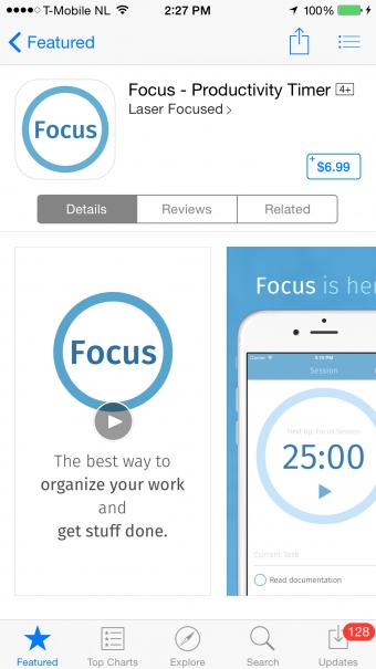 iPhone Paid App