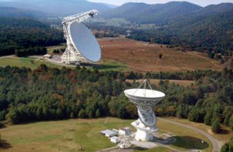 Radio Telescope, Green Bank
