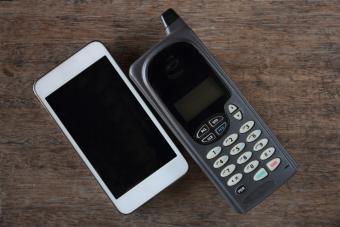 Cellular Phone Timeline