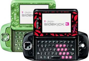 Special Sidekick 3 Phones