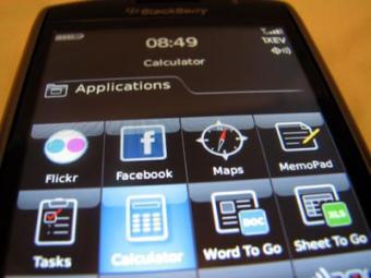 BlackBerry Storm Applications