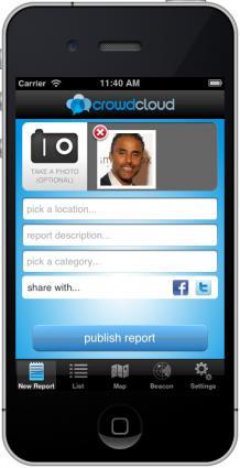 CrowdCloud App
