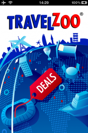 Travelzoo app screen shot