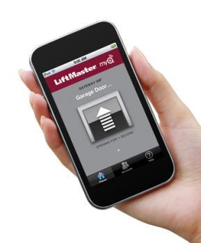 Liftmaster MyQ garage door opener app