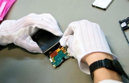 Repairing a cell phone