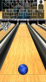 3d Bowling android game