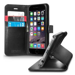 Spigen Wallet Case with Stand Flip Cover for iPhone 6