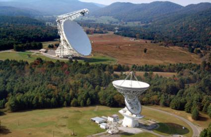 Radio Telescope, Green Bank