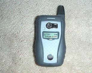 A typical PTT (Push to Talk) phone - Nextel's Motorola i580