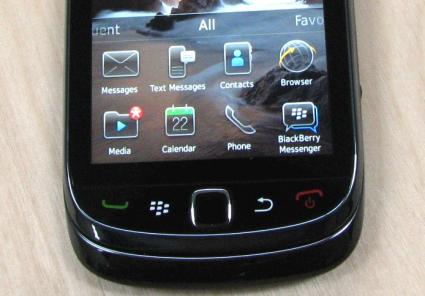 BlackBerry smartphone device