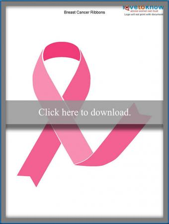 Breast Cancer Ribbon Pages