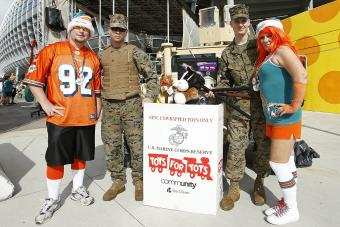 USMC Toys for Tots